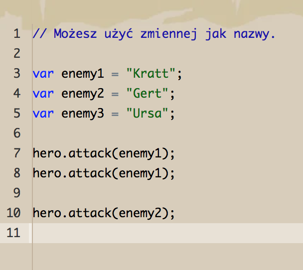 JavaScript - zmienne